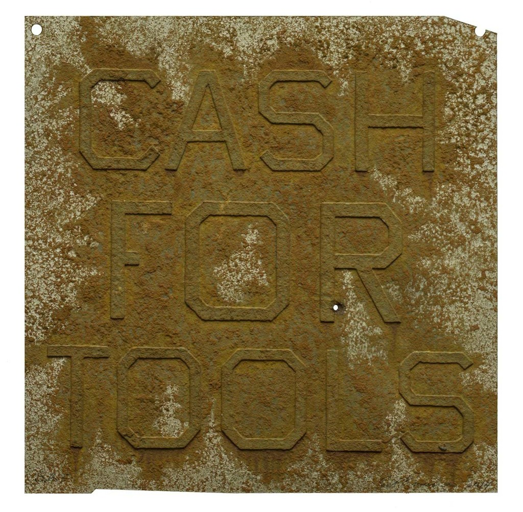 Cash for Tools 2 By Ed Ruscha