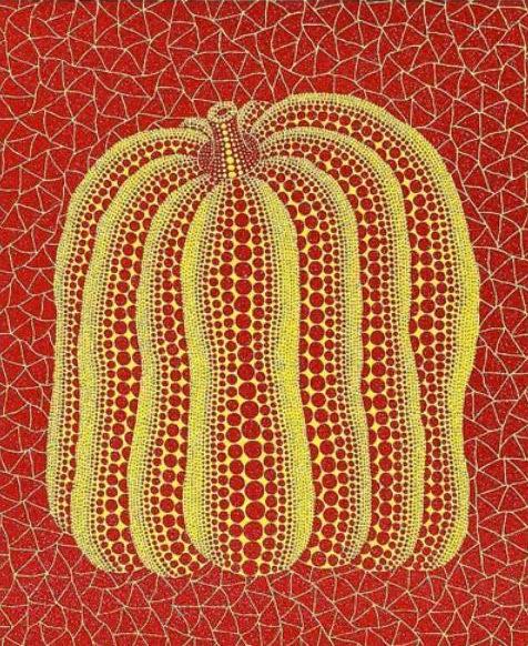 A Pumpkin By Yayoi Kusama