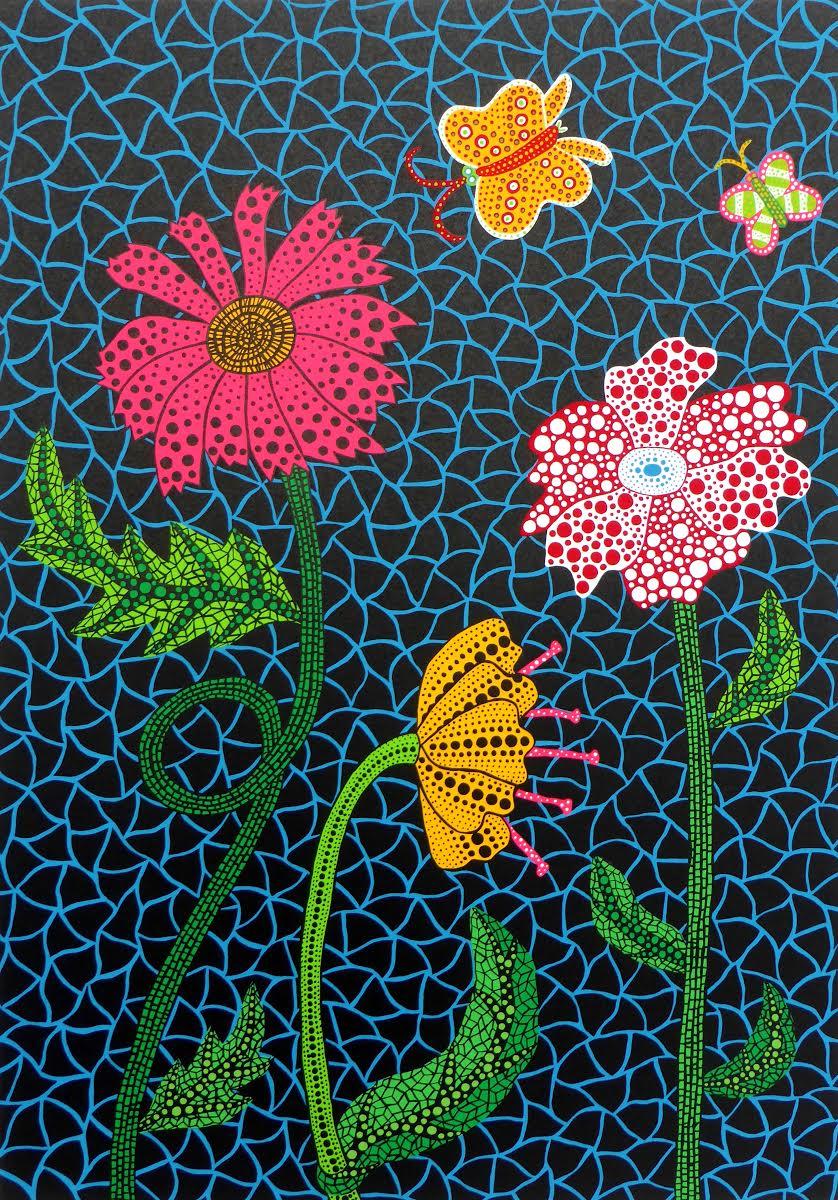 Flowers By Yayoi Kusama
