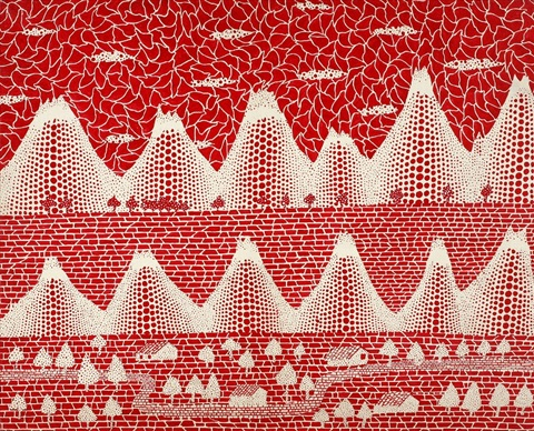 The Shinano Road By Yayoi Kusama