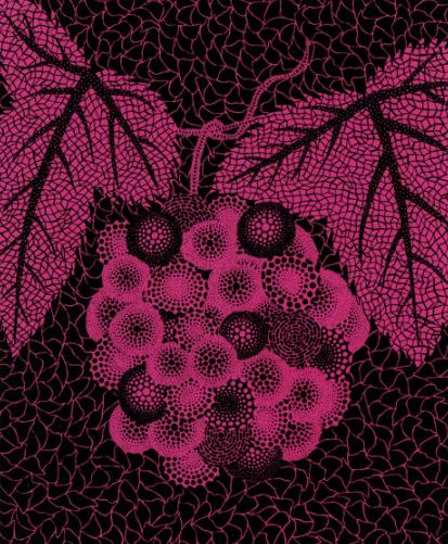 Yayoi Kusama Grapes Pink