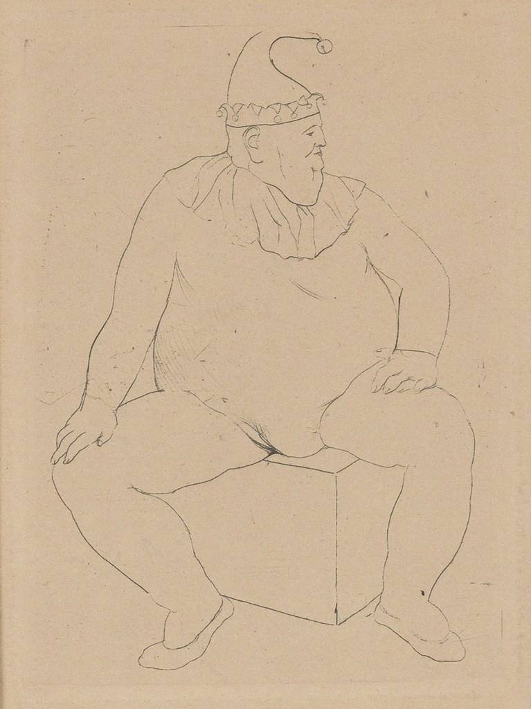 Le Saltimbanque Au Repos (Bloch 10) By Pablo Picasso