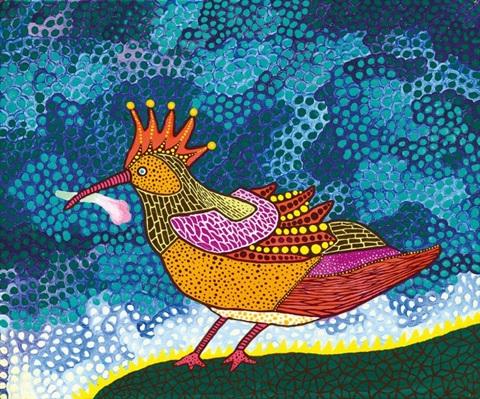 Bird by Yayoi Kusama