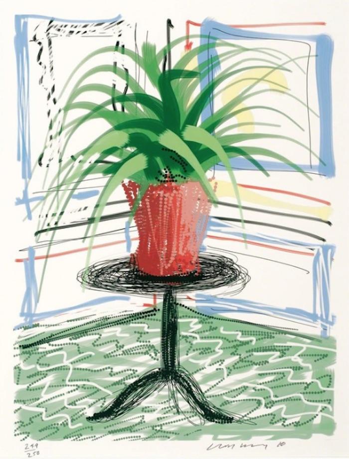 David Hockney Untitled 468, 2010