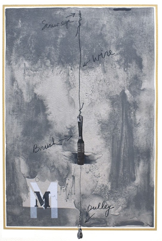 M by Jasper Johns