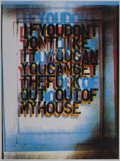 My House II by Christopher Wool