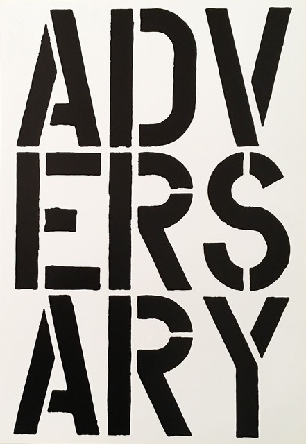 Adversary by Christopher Wool