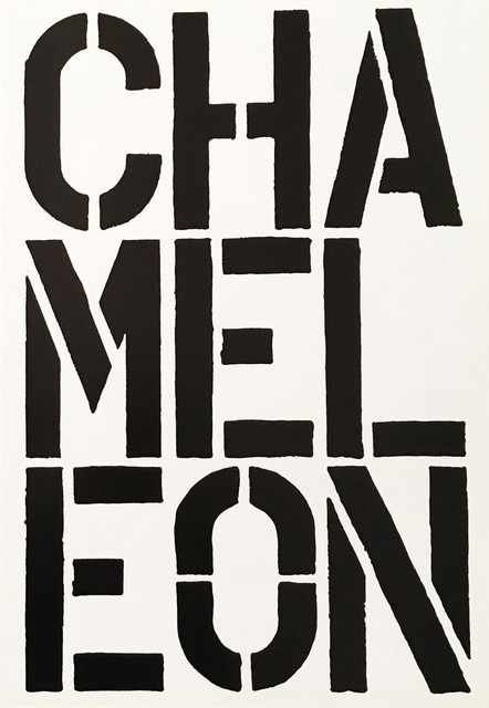 Chameleon by Christopher Wool