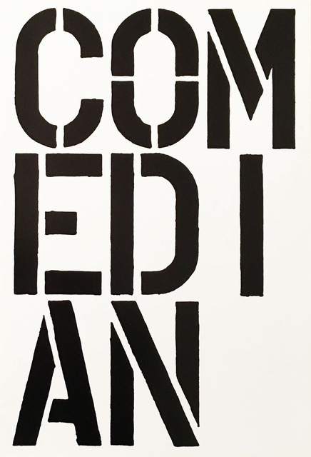 Comedian by Christopher Wool