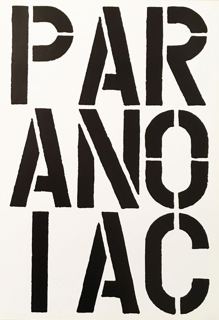 Paranoiac by Christopher Wool