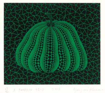 A Pumpkin GB-D by Yayoi Kusama