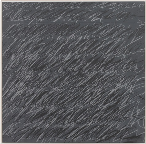 untitled on the bowery by cy twombly