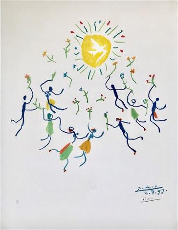La Ronde de la Jeunesse By Picasso