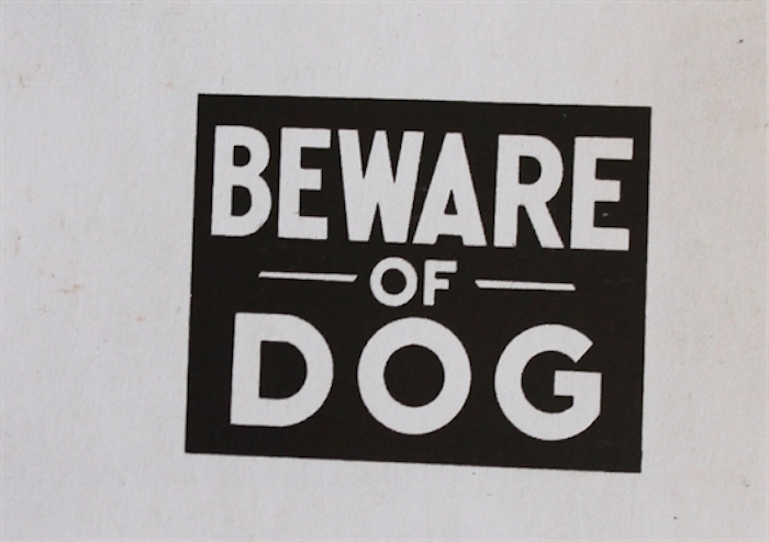 Beware Of Dog by Andy Warhol