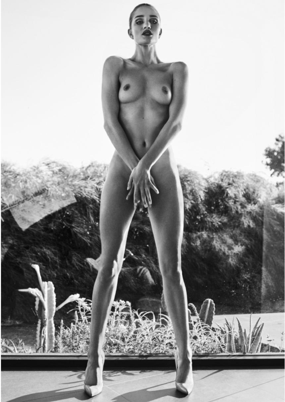 Rosie in Glass Garden by Russell James