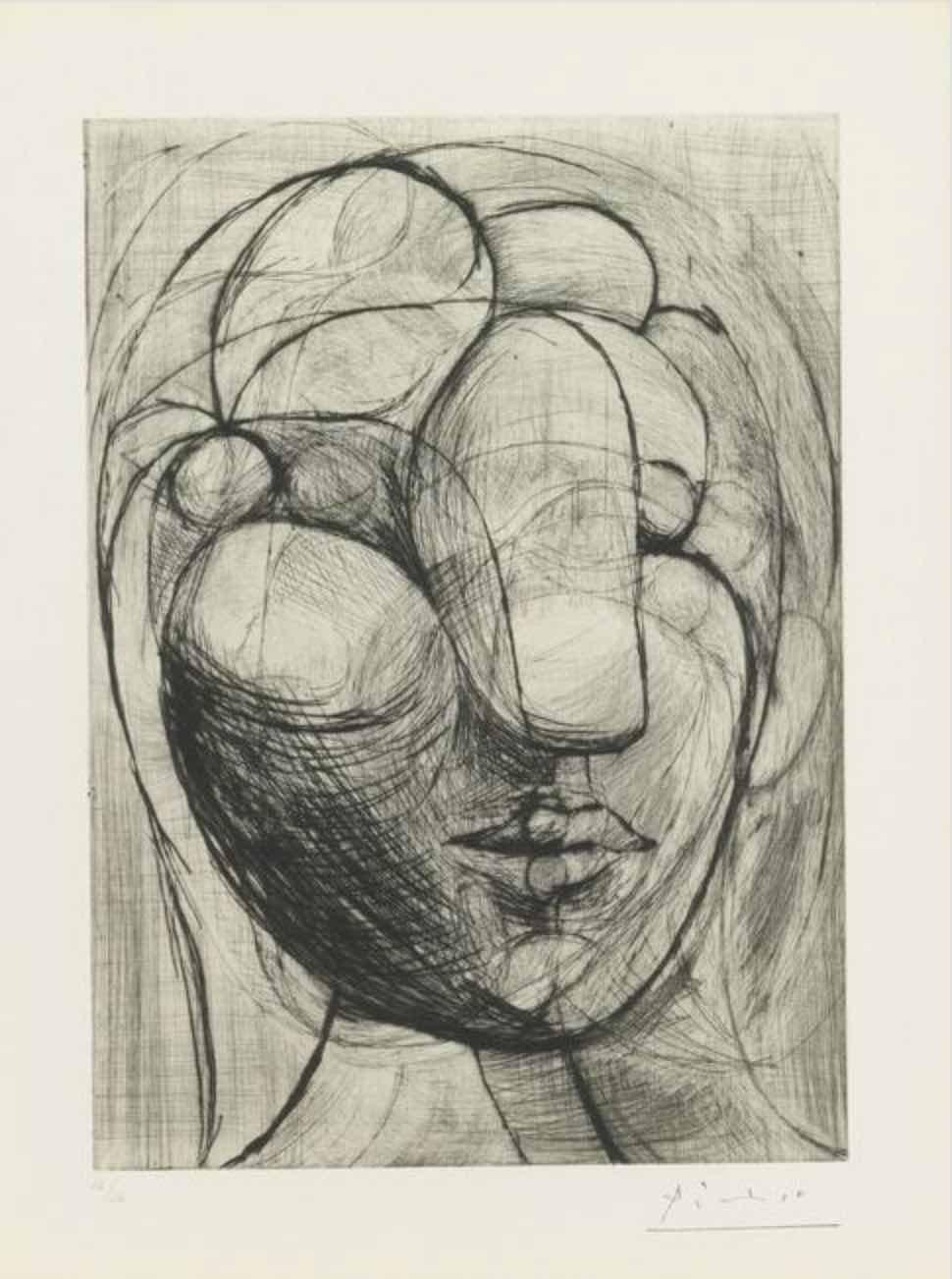 Tête de Marie-Thérèse by Picasso