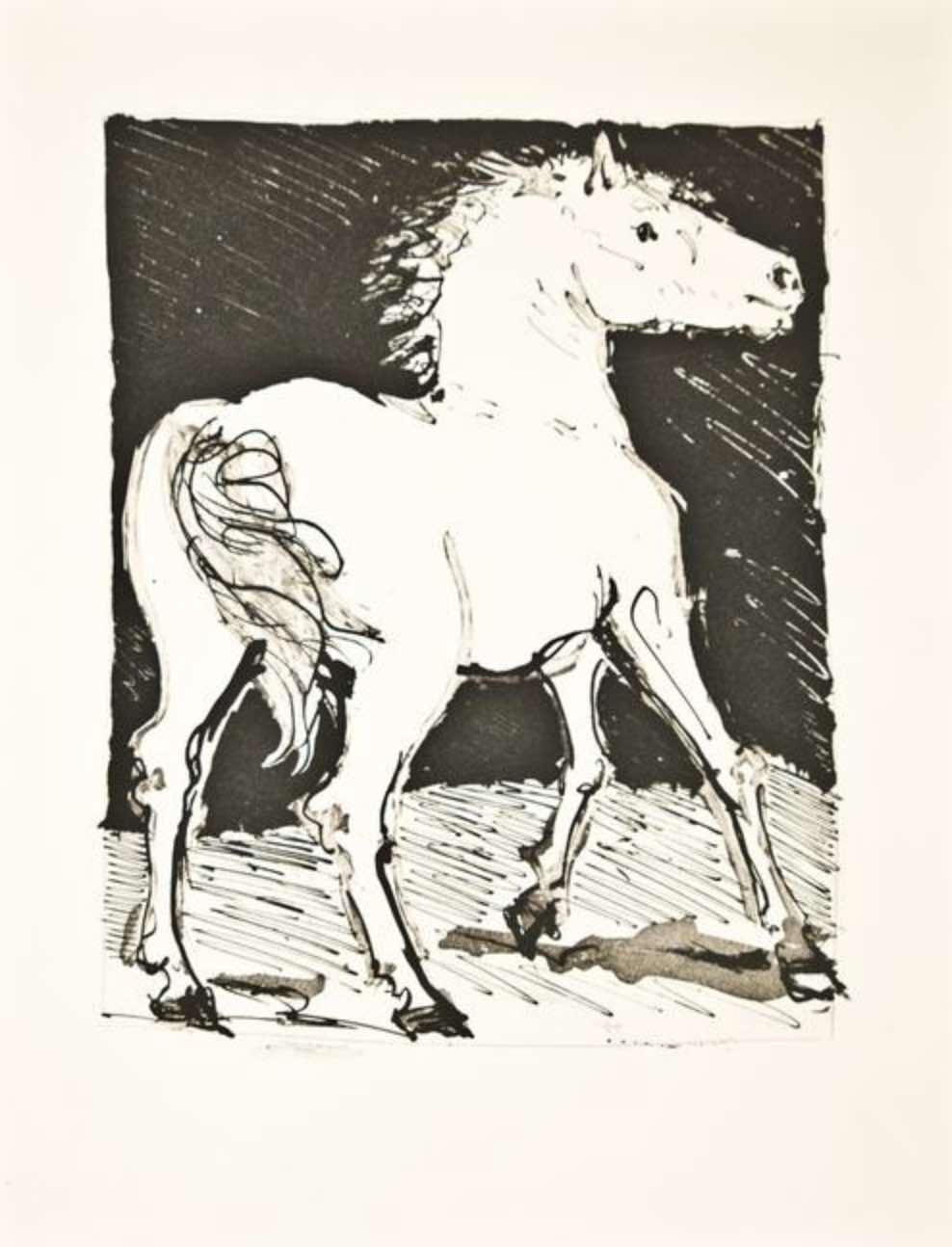 Le Cheval by Picasso