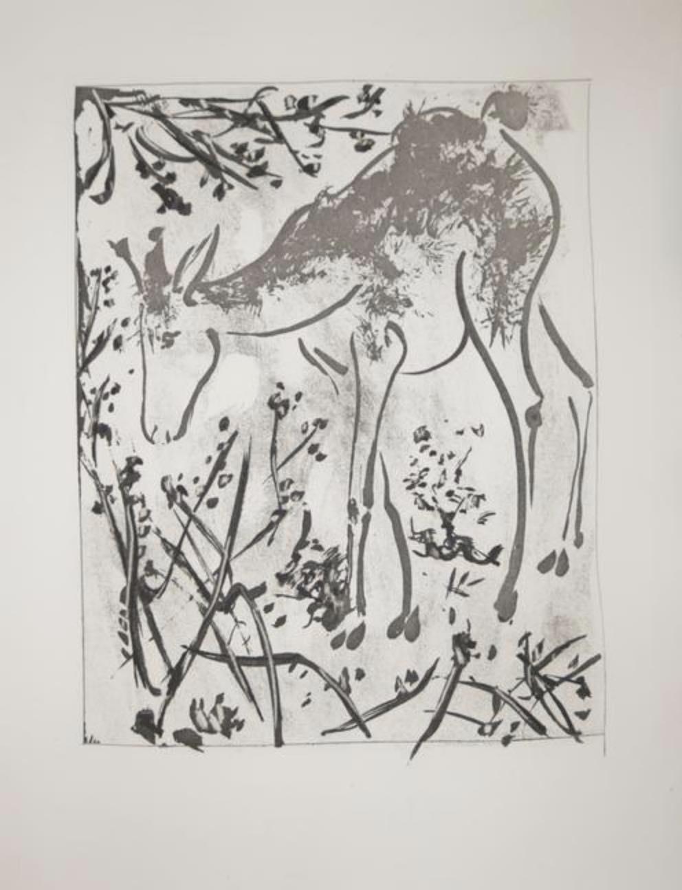 La Biche by Picasso