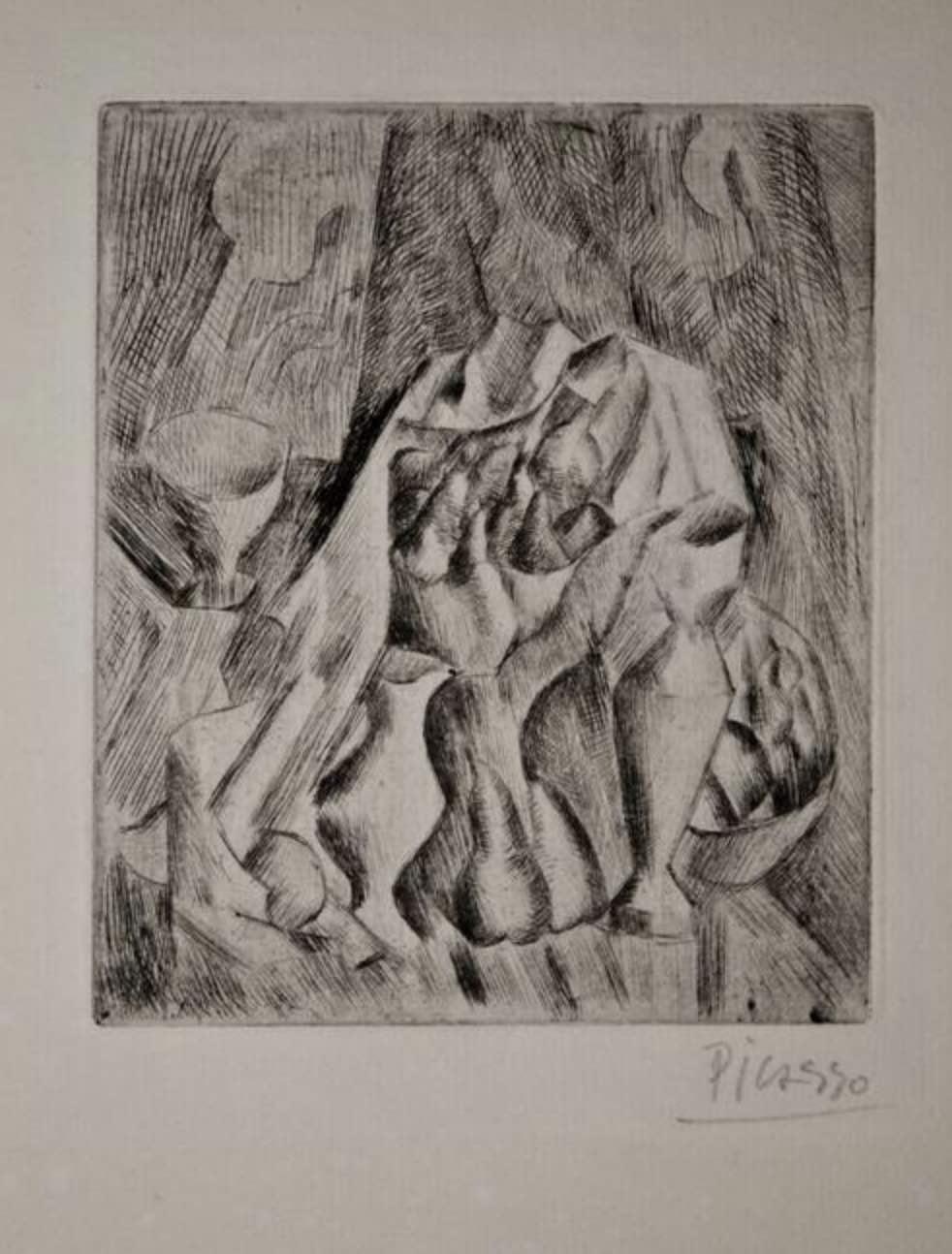Nature Morte au Compotier by Pablo Picasso