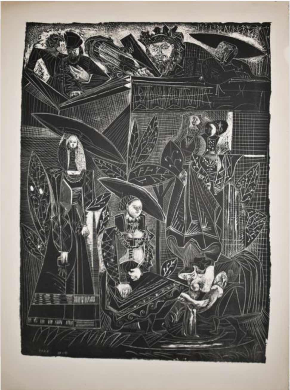 David et Bethsabée by Picasso