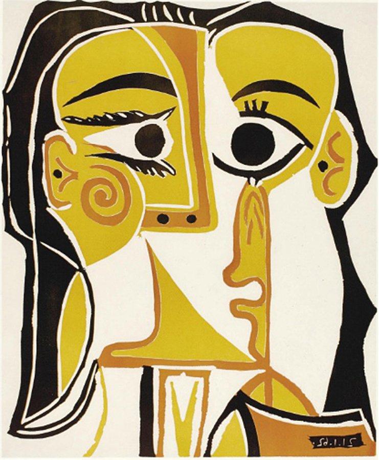 Tête de Femme (Jacqueline jeune) by Pablo Picasso