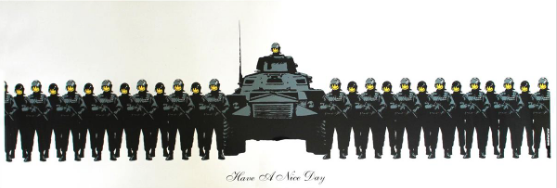 Have A Nice Day by Banksy