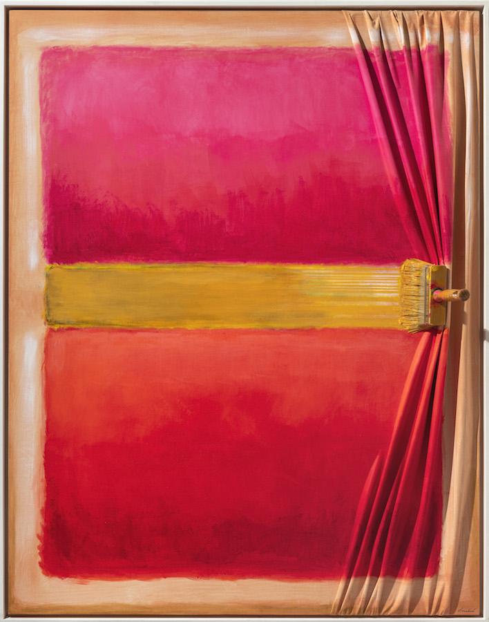 Brush with Rothko by Jean Paul Donadini