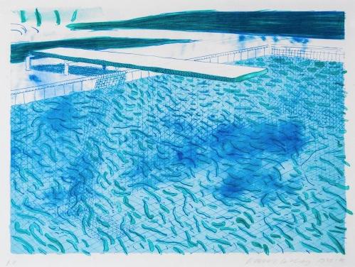 Pool I 1978-80 by David Hockney
