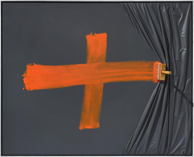 Orange Cross by Jean Paul Donadini