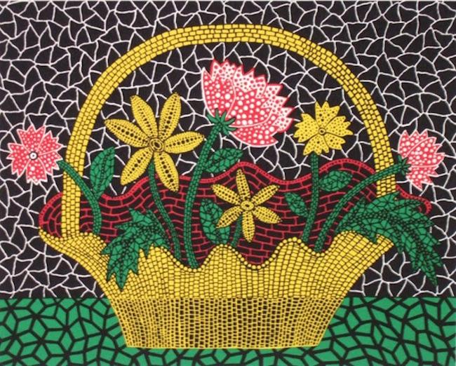 Flower Basket 1993 by Yayoi Kusama