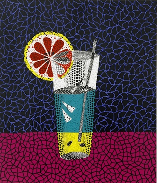 Lemon Squash, 1984 by Yayoi Kusama