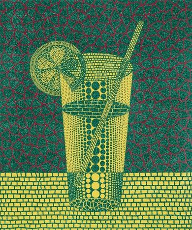 Lemon Squash 2 by Yayoi Kusama