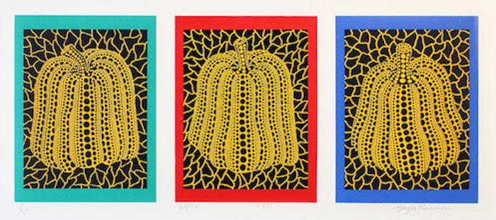 Pumpkin 1991 by Yayoi Kusama
