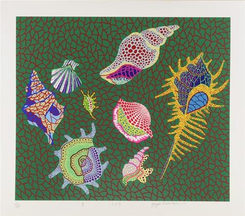 Shellfish 1989 by Yayoi Kusama