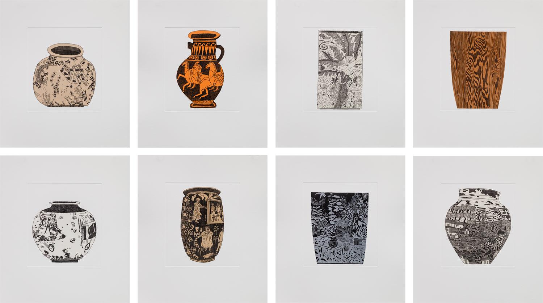 8 Pots by Jonas Wood