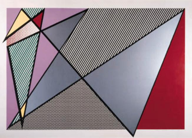 Imperfect #224 by Roy Lichtenstein