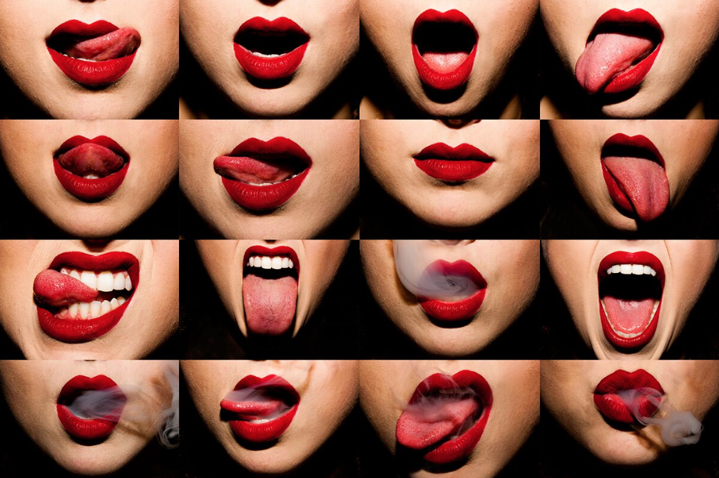 Mouths by Tyler Shields