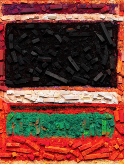 Metachrome No. 3 and No. 13 After Mark Rothko by Vik Muniz