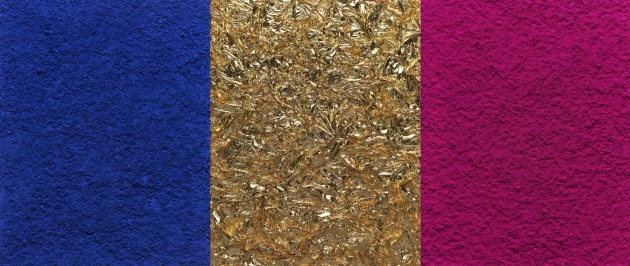 Monochome Pink Gold after Yves Klein from Pictures of Pigments by Vik Muniz