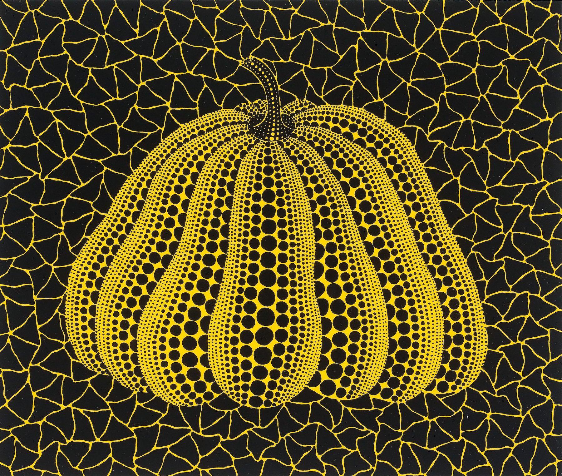 a pumpkin yb-d by yayoi kusama copy