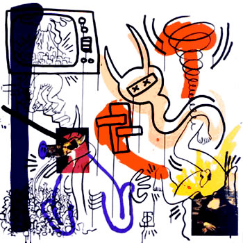 Apocalypse 7 by Keith Haring