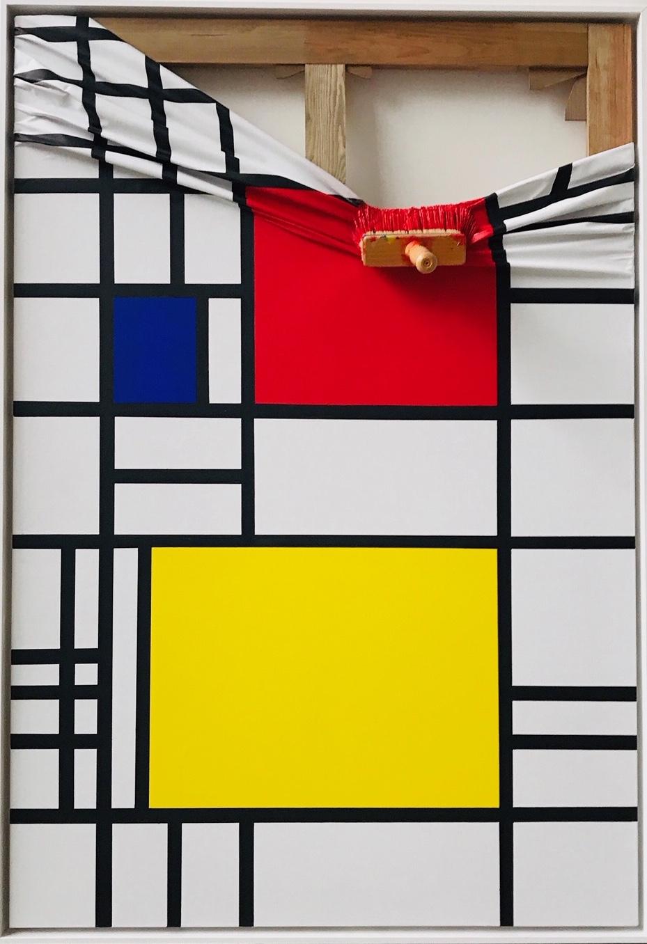 Mondrian Rouge by Jean Paul Donadini