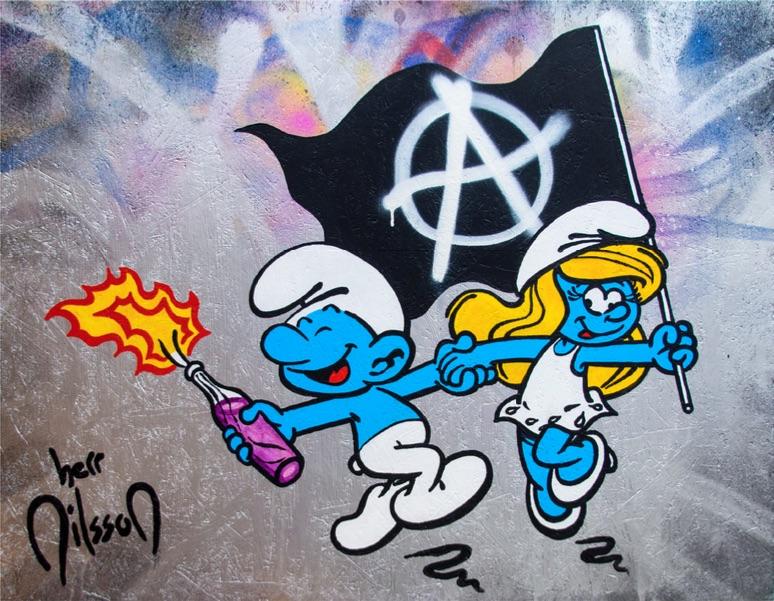 Happy Riot by Herr Nilsson