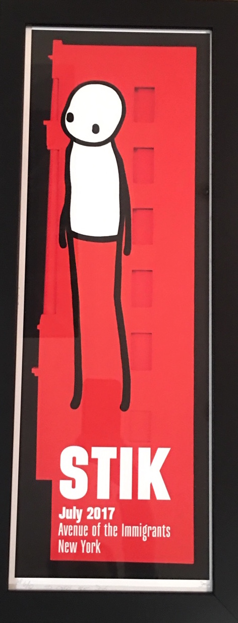 STIK Avenue of the Immigrants Exhibition Poster (1)