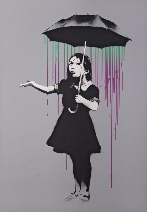 Nola Green/Purple by Banksy