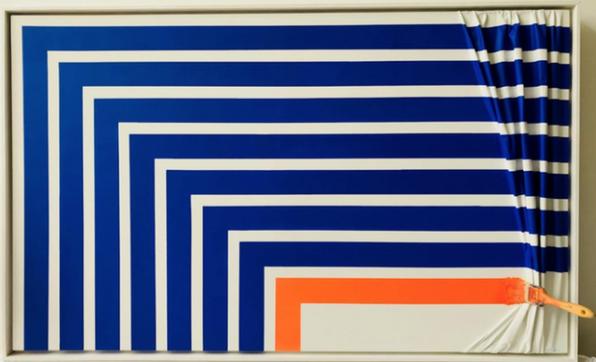 Bleu et Orange by Jean-Paul Donadini