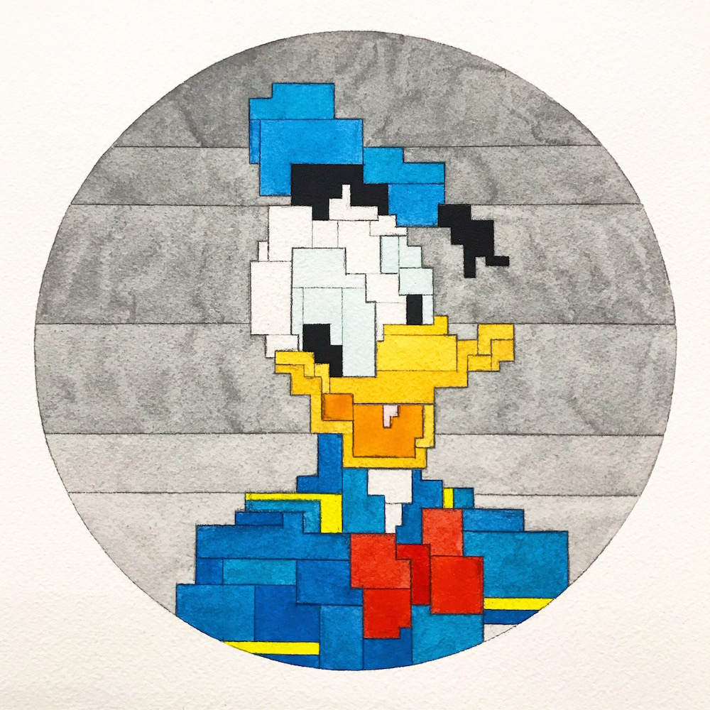 Donald Duck by Adam Lister