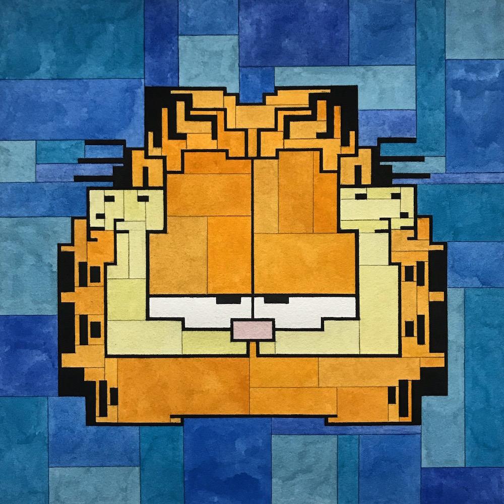 Garfield by Adam Lister