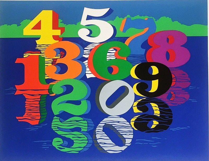 Numbers by Robert Indiana