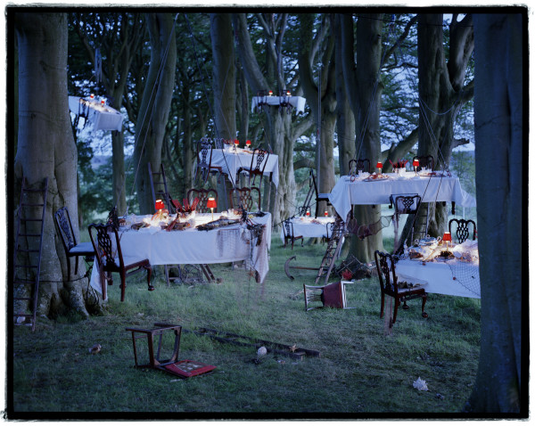 After the Floating Dinner Party by Tim Walker